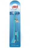 Зубная щетка Cliny +массажер для десен