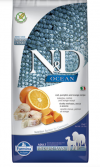 N&D Dog GF Pumpkin Codfish & Orange Adult Medium & Maxi