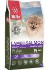 Blitz Holistic Lamb & Salmon Adult Dog Small Breeds
